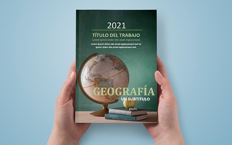 Caratula de Geografía para Cuadernos