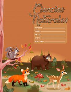 Caratulas de Ciencias Naturales del Reino Animal