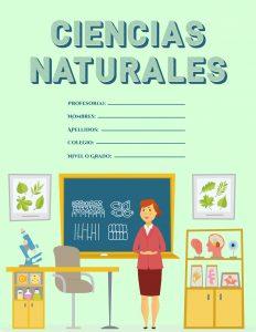 Caratulas de Ciencias Naturales para colegio Imágenes de Clases