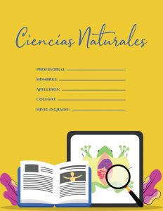 Caratulas de Ciencias Naturales y Anatomía animal