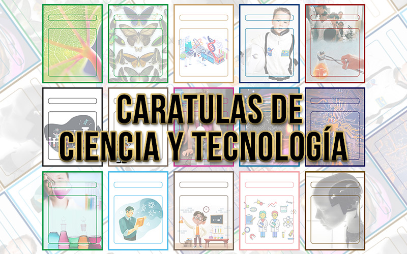 Caratulas de ciencia y tecnología