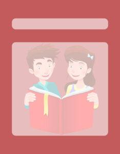 Caratulas para Comunicación: Niños compartiendo un libro