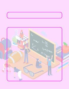 Caratulas para Matemáticas Nivel Secundaria 3