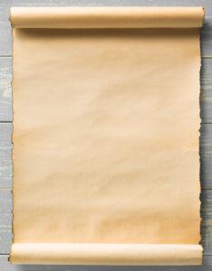 Caratulas tipo pergamino para cuadernos con diseño de hoja antigua