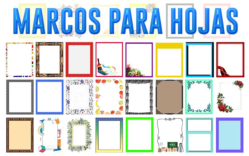 Colección de 45 Marcos para Hojas