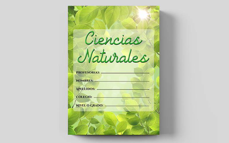 Destacado Imagen destacada de ciencias naturales para cuadernos