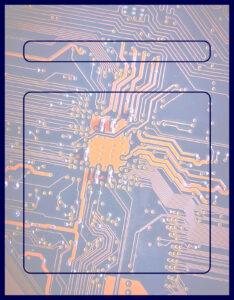 Diseños de Caratulas para Ciencia y Tecnología Chip