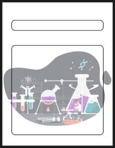 Diseños de Caratulas para Ciencia y Tecnología Experimentos
