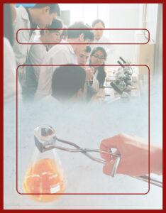 Diseños de Caratulas para Ciencia y Tecnología Laboratorio