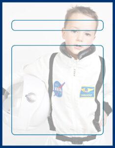Diseños de Caratulas para Ciencia y Tecnología Mini Astronauta