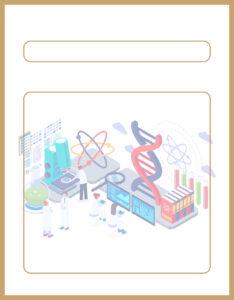 Diseños de Caratulas para Ciencia y Tecnología Naturales ADN Ilustración