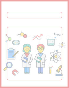 Diseños de Caratulas para Ciencia y Tecnología Niños Químicos