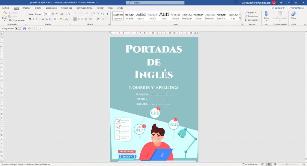 Imágenes de Portadas de Inglés