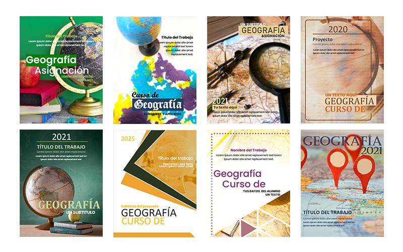 Las mejores portadas de geografía