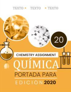 Portada para Química color Amarillo