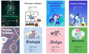 Portadas de Biología