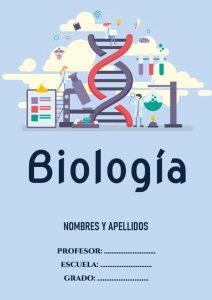 Portadas de Biología N° 9