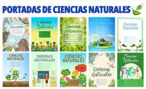 Portadas de Cuadernos para Ciencias Naturales