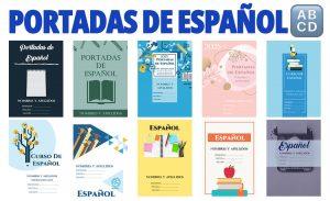 Portadas de Cuadernos para Español