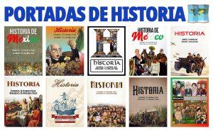 Portadas de Cuadernos para Historia