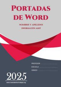Portadas de Word: Colección Junio 2021 N° 1