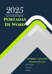 Portadas de Word: Colección Junio 2021 N° 2