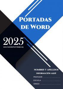 Portadas de Word: Colección Junio 2021 N° 3