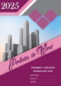 Portadas de Word: Colección Junio 2021 N° 4