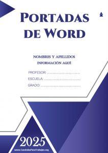 Portadas de Word: Colección Junio 2021 N° 5