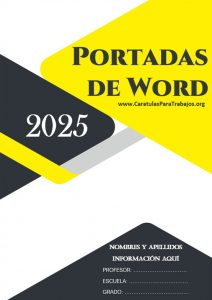 Portadas de Word: Colección Junio 2021 N° 6