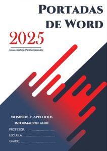 Portadas para Word: Colección Junio 2021 N° 7