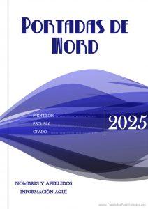 Portadas para Word: Colección Junio 2021 N° 8