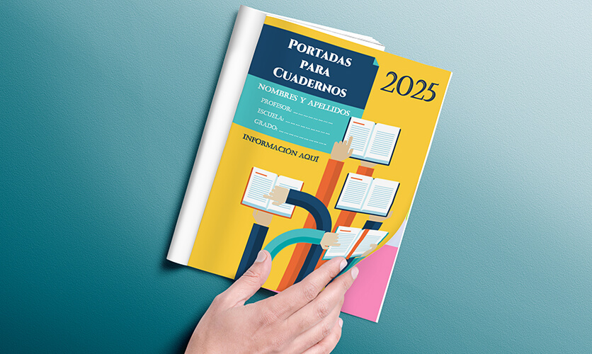 Portadas para Cuadernos Creativas