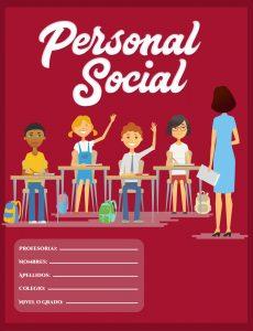 caratula de personal social para secundaria