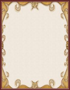 caratula para cuaderno tipo vintage elegante
