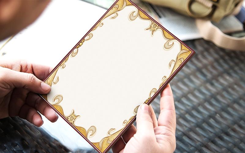 caratula para cuaderno tipo vintage elegante portada