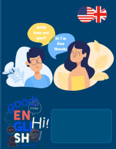 caratula para el curso de ingles english para estudiantes