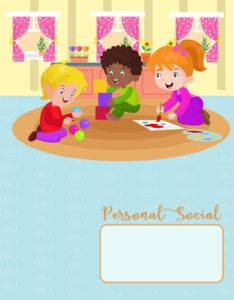caratulas de personal social de inicial primaria y secundaria