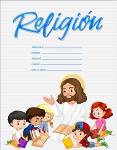 caratulas de religión para niños de primaria