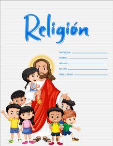 caratulas para niños de religión