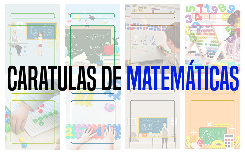 Descarga gratis Caratulas para Matemáticas