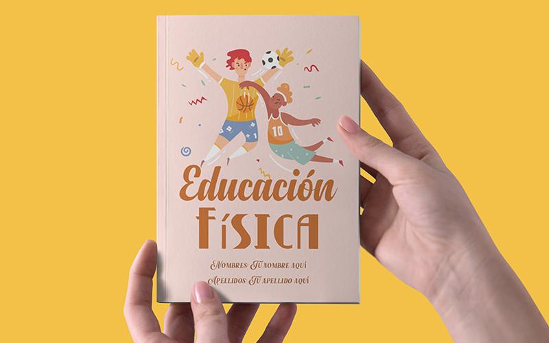 ejemplo de caratula de educación física para cuadernos