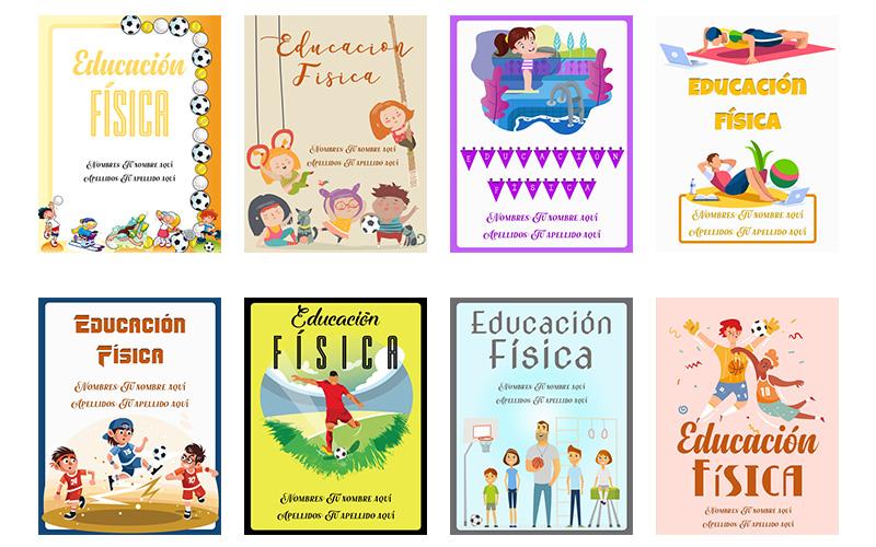 imagenes para caratulas para educacion fisica bonitas para ninos y ninas