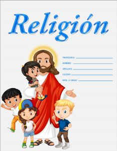 marcos de caratulas para religión