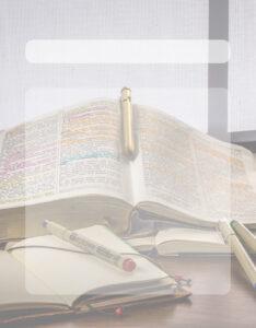 modelos de caratula para religión con fondo de biblia cristiana