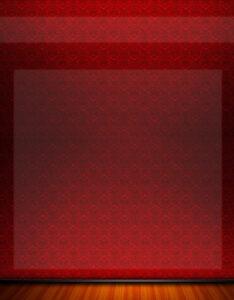 Portada con diseño de tapiz rojo para universitarios