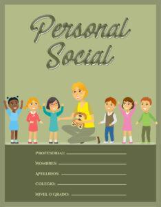 portada para personal social con margenes para nivel primaria
