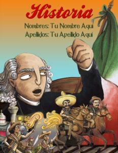 portadas de historia de México el grito de dolores