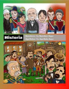 portadas de historia para niños de México