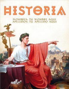 portadas de historia sobre Roma